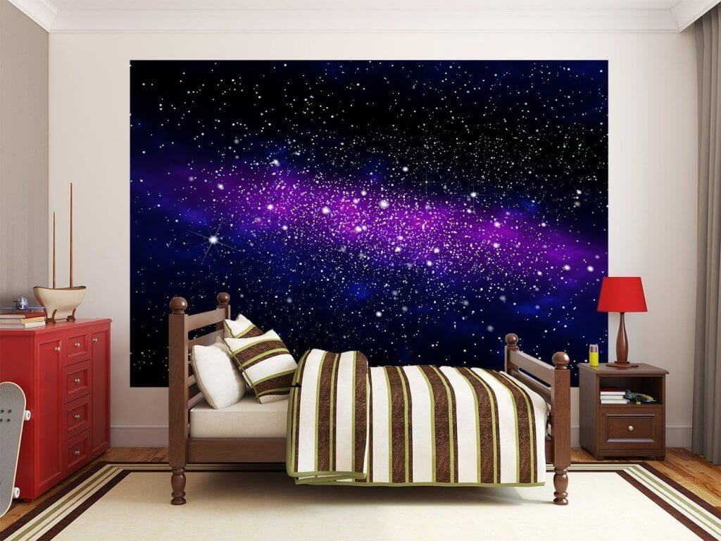 Full Size of Sternenhimmel Kinderzimmer Fototapete Galaxy Regal Regale Weiß Sofa Kinderzimmer Sternenhimmel Kinderzimmer