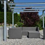 Pergola Metall Wohnzimmer Gyger Detail Pergola 04 Thun Bern Schweiz Bett Metall Garten Regal Weiß Regale