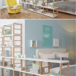 Raumteiler Kinderzimmer Kinderzimmer Kinderzimmer Ideen Mit Raumaufteiler Traumhaus Sofa Regale Regal Weiß Raumteiler