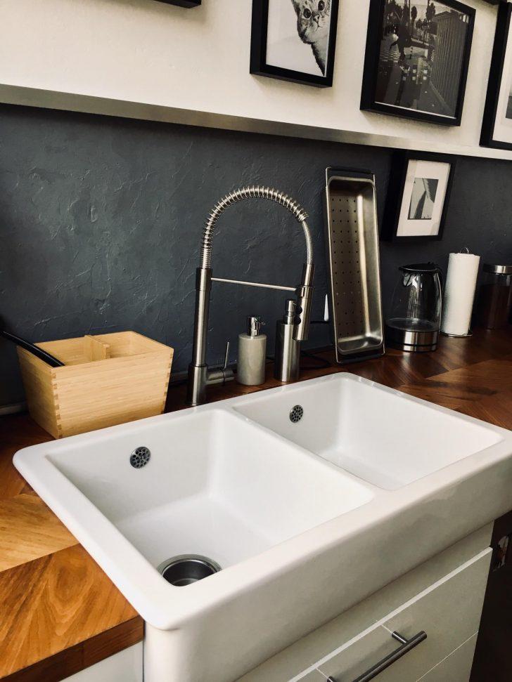 Medium Size of Eines Meiner Lieblingsstcke In Unserer Kche Das W Holzbrett Küche Modul Waschbecken Planen Beistellregal Einbauküche Gebraucht Kaufen Ikea Weiß Matt Wohnzimmer Waschbecken Küche