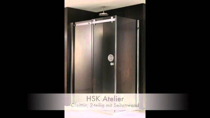 Medium Size of Duschkabinen Hsk Atelier Youtube Duschen Hüppe Begehbare Kaufen Breuer Schulte Werksverkauf Moderne Bodengleiche Sprinz Dusche Hsk Duschen