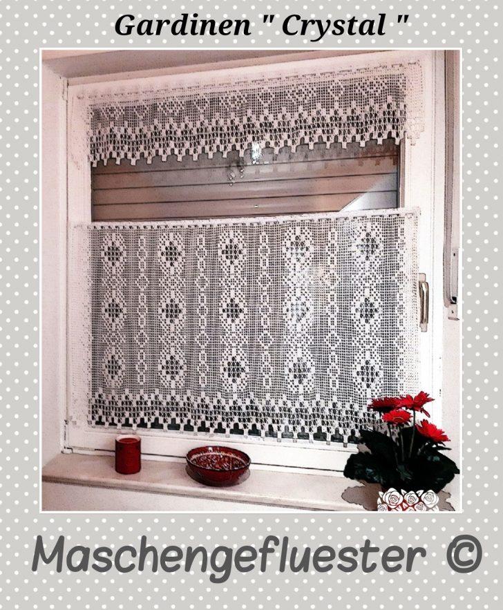 Medium Size of Gardine Häkeln Wohnzimmer Gardinen Schlafzimmer Fenster Für Die Küche Scheibengardinen Wohnzimmer Gardine Häkeln