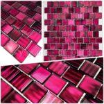 Küchenwand Wohnzimmer Mosaik Und Fliesenmuster Fr Bad Kchenwand Drio Violet