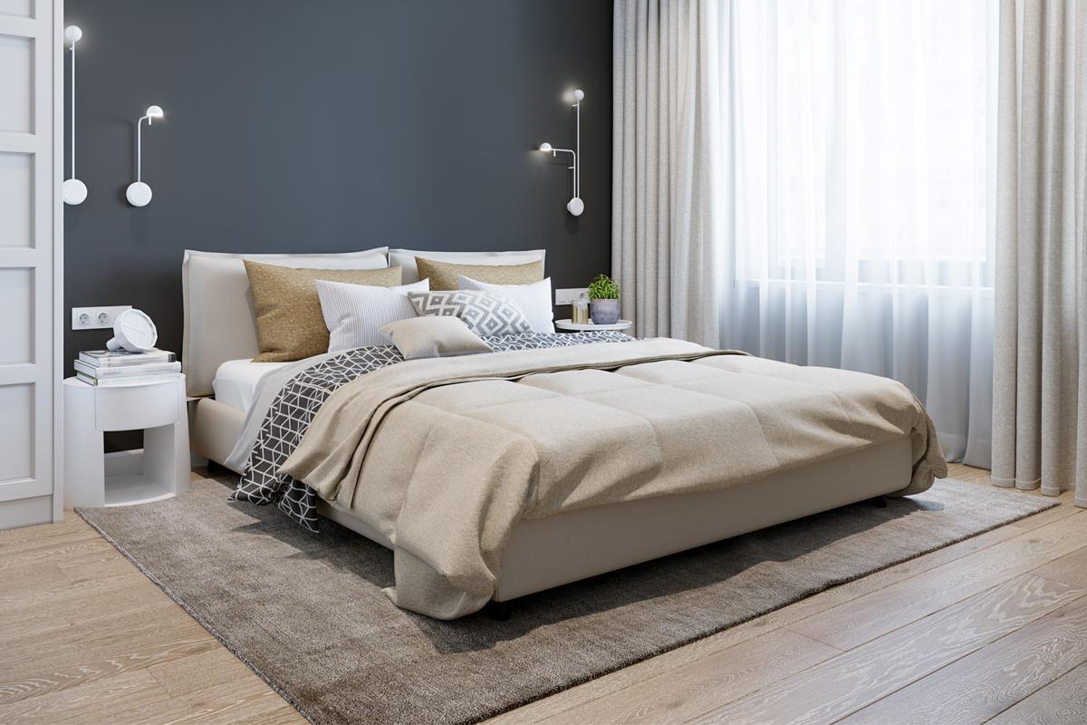 Full Size of Schlafzimmer Gestalten Fuboden Trends Materialien Im Landhausstil Weiß Teppich Loddenkemper Komplett Vorhänge Massivholz Set Mit überbau Wandtattoo Wohnzimmer Schlafzimmer Gestalten