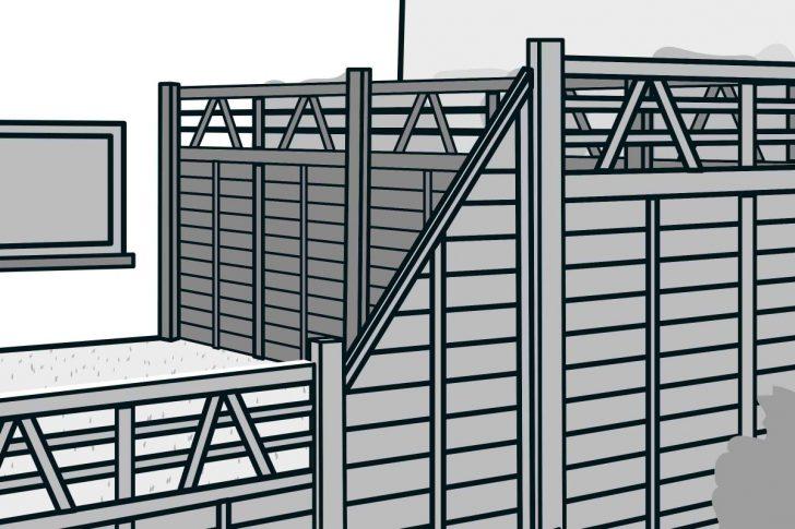 Medium Size of Hornbach Sichtschutz Bauen Aus Fertigelementen Anleitung Von Fenster Sichtschutzfolien Für Sichtschutzfolie Im Garten Wpc Holz Einseitig Durchsichtig Wohnzimmer Hornbach Sichtschutz