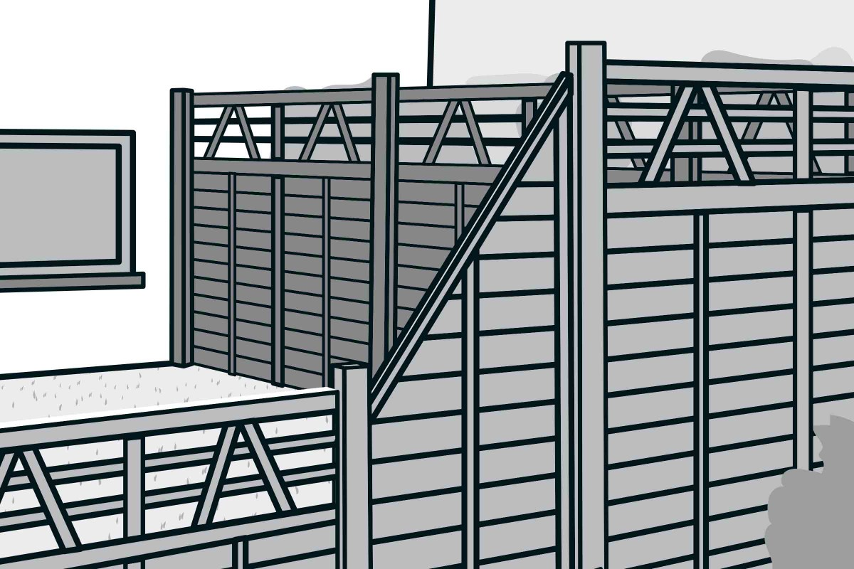 Full Size of Hornbach Sichtschutz Bauen Aus Fertigelementen Anleitung Von Fenster Sichtschutzfolien Für Sichtschutzfolie Im Garten Wpc Holz Einseitig Durchsichtig Wohnzimmer Hornbach Sichtschutz