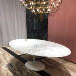 Esstisch Oval Esstische Esstisch Oval Beton Akazie Mit 4 Stühlen Günstig Rustikaler Esstische Holz Rustikal Industrial Massivholz Designer Lampen Sofa Für Pendelleuchte Wildeiche