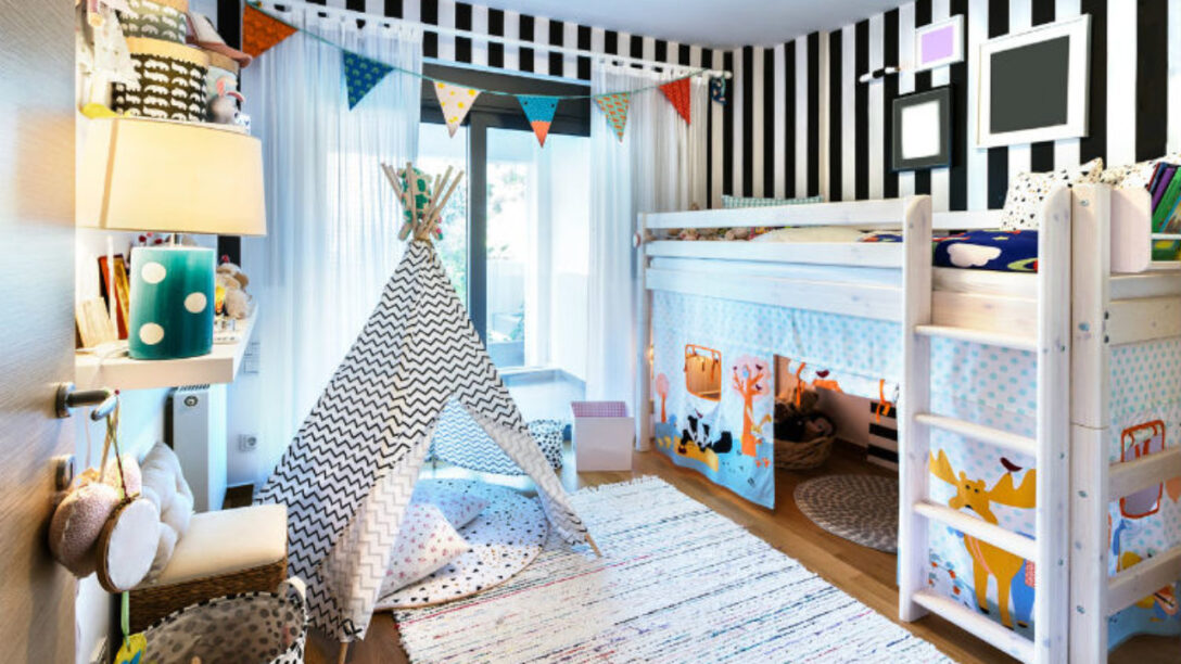 Large Size of Hochbetten Kinderzimmer Hochbett Im Gemtlich Und Praktisch Zugleich Regal Regale Sofa Weiß Kinderzimmer Hochbetten Kinderzimmer
