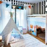 Hochbetten Kinderzimmer Hochbett Im Gemtlich Und Praktisch Zugleich Regal Regale Sofa Weiß Kinderzimmer Hochbetten Kinderzimmer