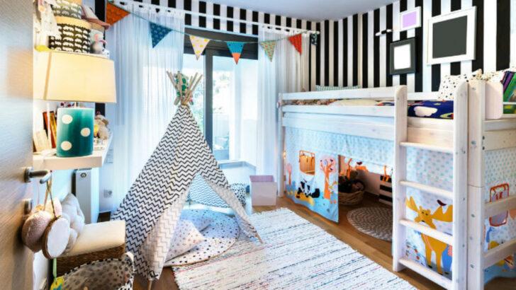 Medium Size of Hochbetten Kinderzimmer Hochbett Im Gemtlich Und Praktisch Zugleich Regal Regale Sofa Weiß Kinderzimmer Hochbetten Kinderzimmer