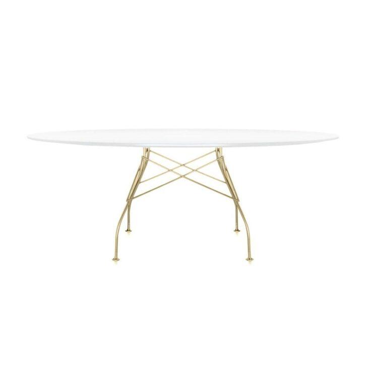 Medium Size of Kartell Glossy Tisch Oval Gestell Gold Ambientedirect Esstische Massivholz Ausziehbarer Esstisch Bad Hängeschrank Weiß Hochglanz Eiche Weiße Küche Massiv Esstische Esstisch Oval Weiß