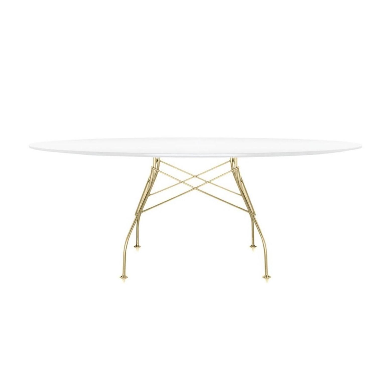 Full Size of Kartell Glossy Tisch Oval Gestell Gold Ambientedirect Esstische Massivholz Ausziehbarer Esstisch Bad Hängeschrank Weiß Hochglanz Eiche Weiße Küche Massiv Esstische Esstisch Oval Weiß