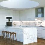 Kücheninsel Wohnzimmer Eine Weie Kcheninsel Ist Ein Traum Bilder Und Ideen Fr