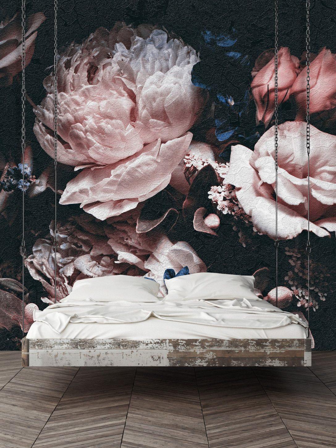 Large Size of Fototapete Blumen Rosa Wanddekorationde Wohnzimmer Fenster Fototapeten Küche Schlafzimmer Wohnzimmer Fototapete Blumen