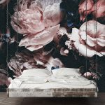 Fototapete Blumen Rosa Wanddekorationde Wohnzimmer Fenster Fototapeten Küche Schlafzimmer Wohnzimmer Fototapete Blumen