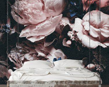 Fototapete Blumen Wohnzimmer Fototapete Blumen Rosa Wanddekorationde Wohnzimmer Fenster Fototapeten Küche Schlafzimmer