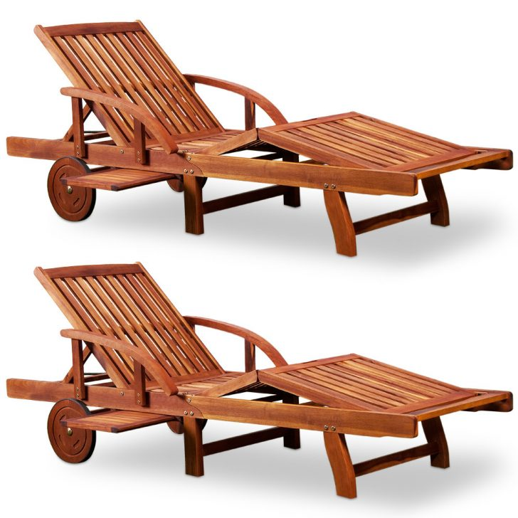 Medium Size of Gartenliege Klappbar Sonnenliege Tami Sun 2er Set Akazien Holz Verstellbar Ausziehbarer Ausklappbares Bett Ausklappbar Wohnzimmer Gartenliege Klappbar