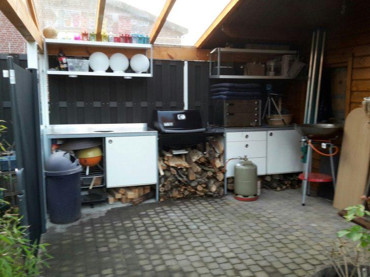 Medium Size of Outdoor Küche Ikea Unsere Outdoorkche Mit Udden Kchenelementen Von Blende Komplette Holzküche Kinder Spielküche Ohne Elektrogeräte Pentryküche Nolte Wohnzimmer Outdoor Küche Ikea