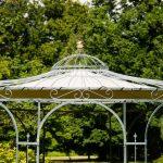 Pavillon Rund Garten Holz Metall 4 M 3 5m Durchmesser Ersatzdach Pavillion 3x3 Winterfest Gartenpavillon Aus Esstisch Ausziehbar Sofa Halbrund Rundreise Und Wohnzimmer Pavillon Rund