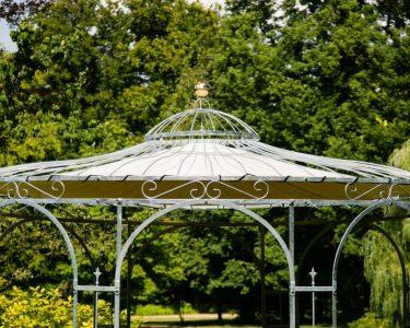 Pavillon Rund Wohnzimmer Pavillon Rund Garten Holz Metall 4 M 3 5m Durchmesser Ersatzdach Pavillion 3x3 Winterfest Gartenpavillon Aus Esstisch Ausziehbar Sofa Halbrund Rundreise Und