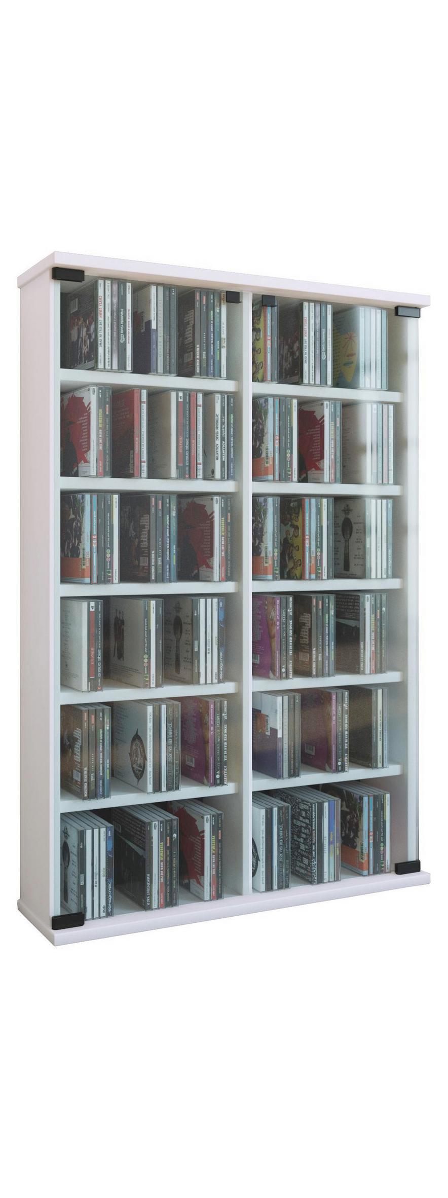 Full Size of Cd Regal In Wei Online Bestellen Kleiderschrank Schäfer Regale Schreibtisch Modular Holz Kisten Schräge Für Dachschrägen Buche Regal Cd Regal