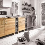 Kchenunterschrank Culinara 100 Massivholz Wohnzimmer Küchenunterschrank
