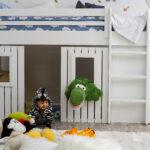 Kinderzimmer Hochbett Regale Regal Weiß Sofa Kinderzimmer Kinderzimmer Hochbett