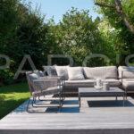 Terrassen Lounge Ausstattungskonzept Garten Gartengestaltung Sessel Loungemöbel Sofa Holz Set Möbel Günstig Wohnzimmer Terrassen Lounge