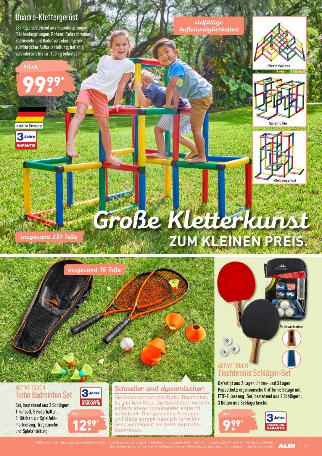 Large Size of Quadro Klettergerüst Nord Prospekt Angebote Ab 17062019 Bis 22062019 Seite Garten Wohnzimmer Quadro Klettergerüst
