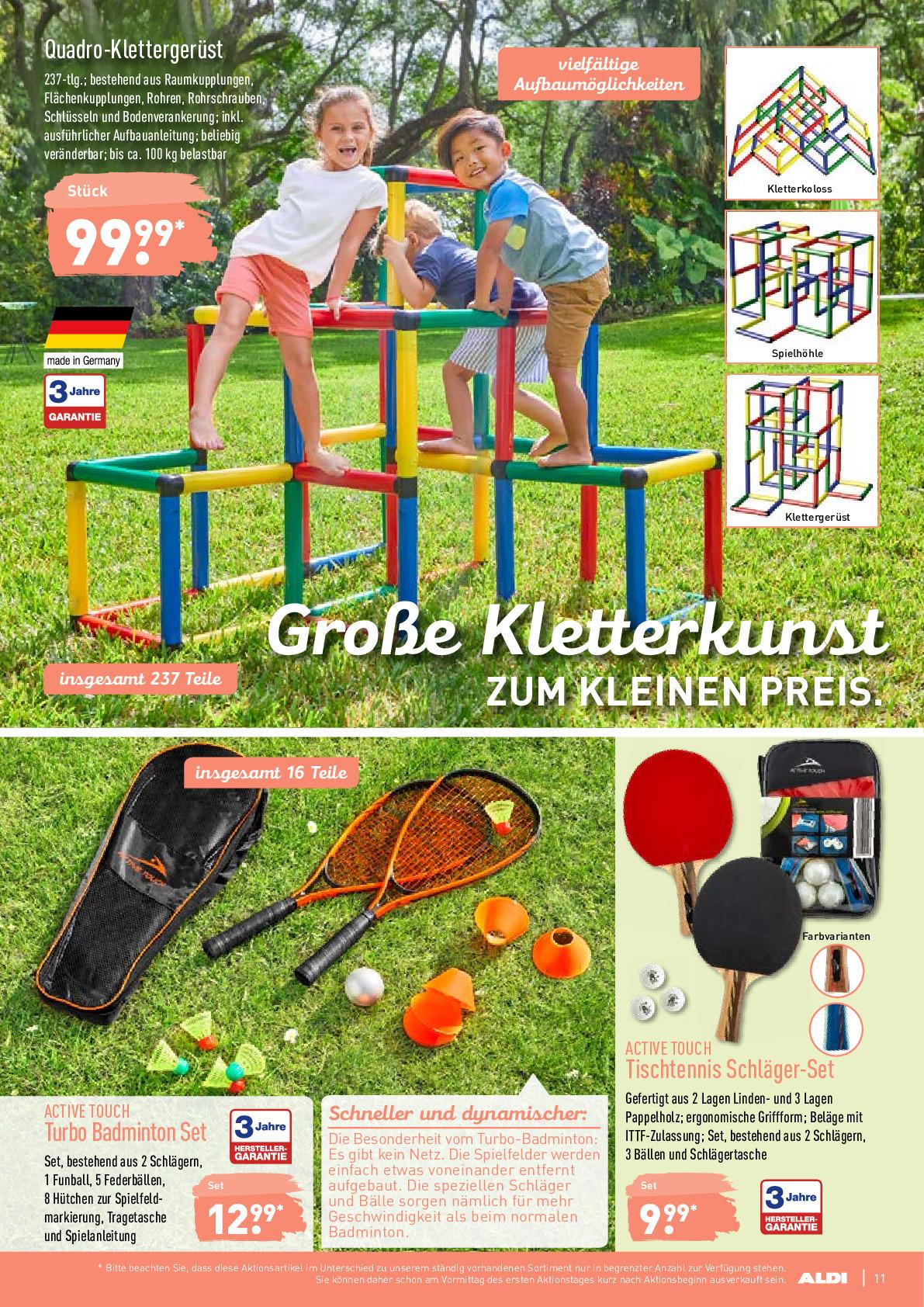 Full Size of Quadro Klettergerüst Nord Prospekt Angebote Ab 17062019 Bis 22062019 Seite Garten Wohnzimmer Quadro Klettergerüst