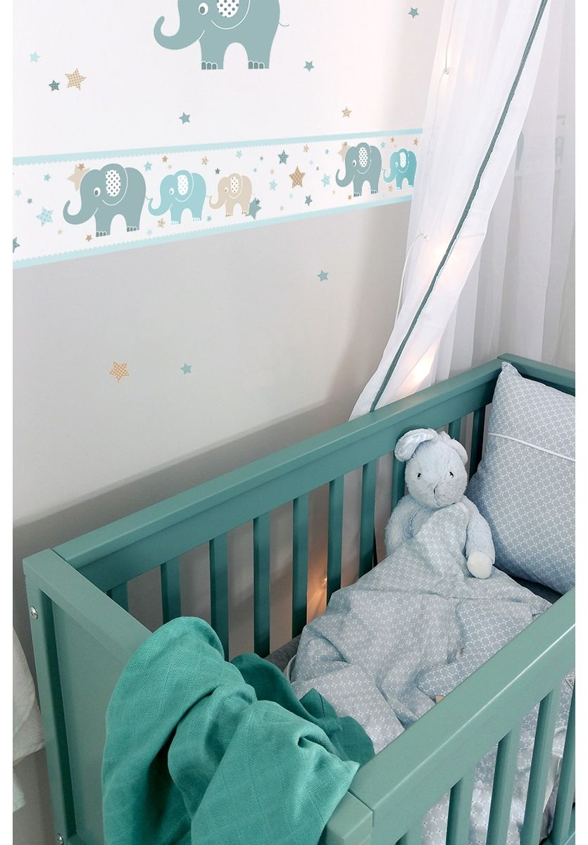 Full Size of Bordüren Kinderzimmer Dinki Balloon Bordre Elefanten Mint Beige Jade Sofa Regal Weiß Regale Kinderzimmer Bordüren Kinderzimmer