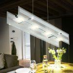 Lampe Küche Wohnzimmer Lampe Küche Verchromte 20w Led Pendelleuchte Cora Mit 1400 Lumen Meinelampe Aufbewahrungsbehälter Wandregal Landhaus Spiegellampe Bad Deckenlampe Wohnzimmer