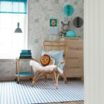 Kreative Ideen Fr Wandgestaltung Im Kinderzimmer Fenster Plissee Regal Weiß Regale Sofa Kinderzimmer Plissee Kinderzimmer