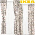Ikea Vorhänge Wohnzimmer Ikea Vorhänge Rodarv Matilda Rekka Vorhnge Set 3d Modell Turbosquid 1271281 Küche Kosten Betten 160x200 Modulküche Schlafzimmer Bei Kaufen Wohnzimmer Sofa