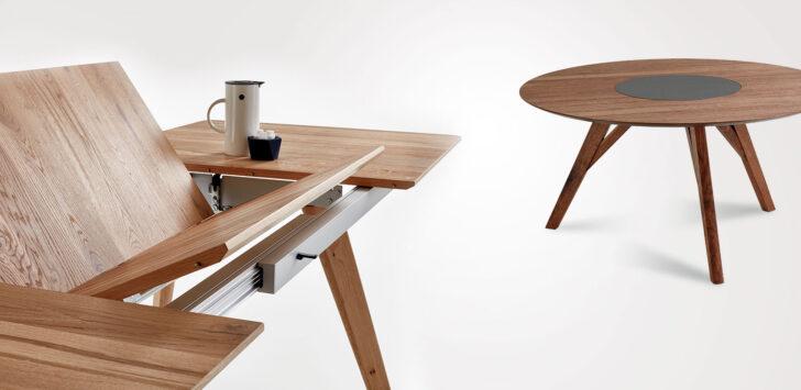 Esszimmer Esstische Venjakob Mbel Vorsprung Durch Design Massiv Holz Massivholz Rund Moderne Ausziehbar Kleine Runde Designer Esstische Esstische