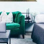 Wohnzimmer Einrichten Modern Unsere Neue Einrichtung In Grn Vorhang Moderne Deckenleuchte Teppich Wandtattoo Hängelampe Indirekte Beleuchtung Deko Gardine Wohnzimmer Wohnzimmer Einrichten Modern