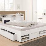 Stauraumbett 120x200 Wohnzimmer Stauraumbett 120x200 399 Bett Mit Matratze Und Lattenrost Weiß Bettkasten Betten