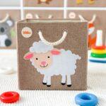 Aufbewahrungsboxen Kinderzimmer Kinderzimmer Aufbewahrungsboxen Kinderzimmer Aufbewahrungsbospielzeugbomit Schaf Motiv Regal Weiß Regale Sofa