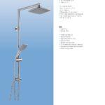 Eisl Designing Water Katalog Duschsulen Duschsäulen Dusche Duschsäulen