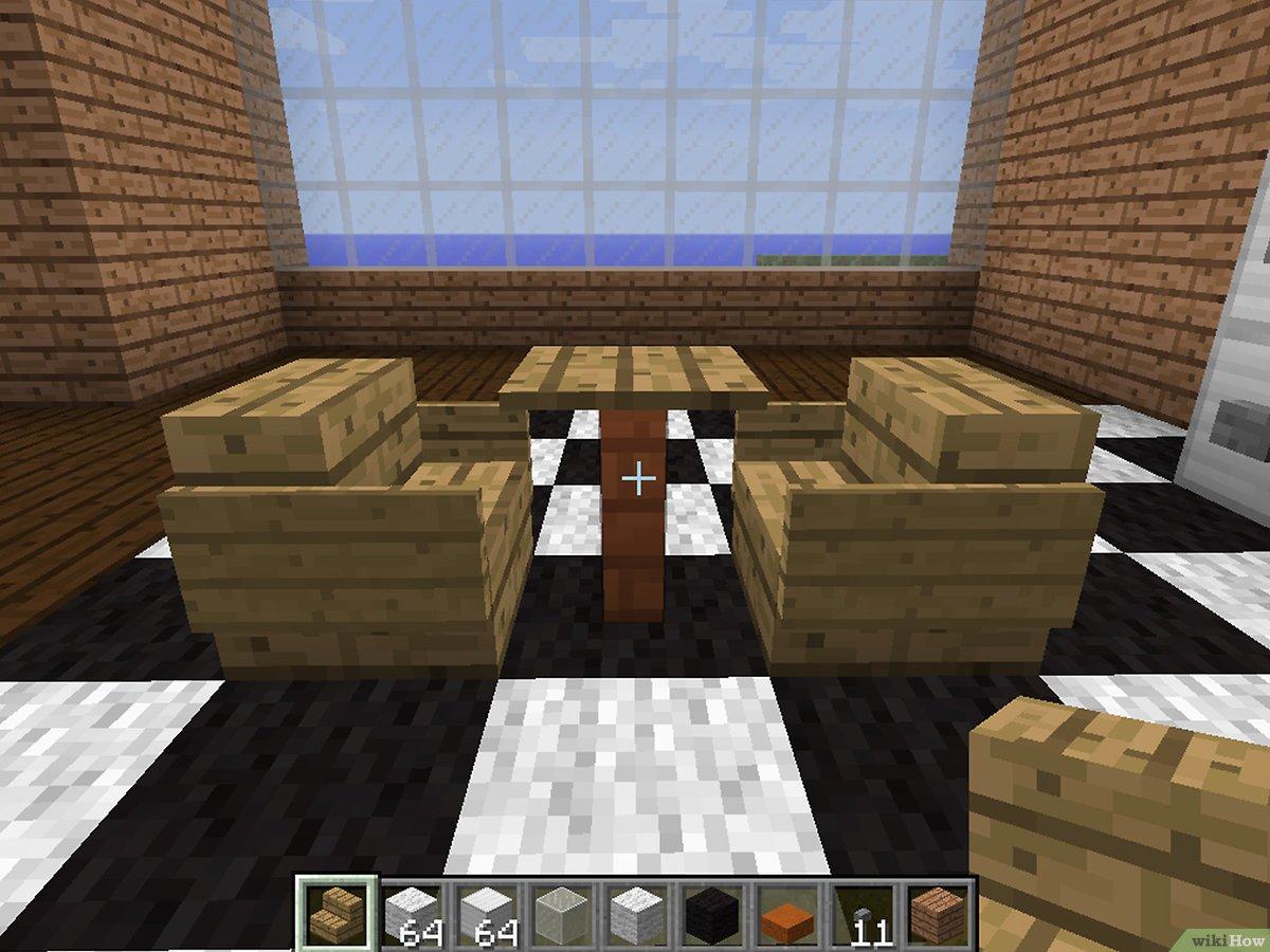 Full Size of Minecraft Küche In Eine Kche Bauen 12 Schritte Mit Wikihow Einbauküche Weiss Hochglanz Fliesenspiegel Selber Machen Barhocker Hängeschrank Glastüren Ikea Wohnzimmer Minecraft Küche