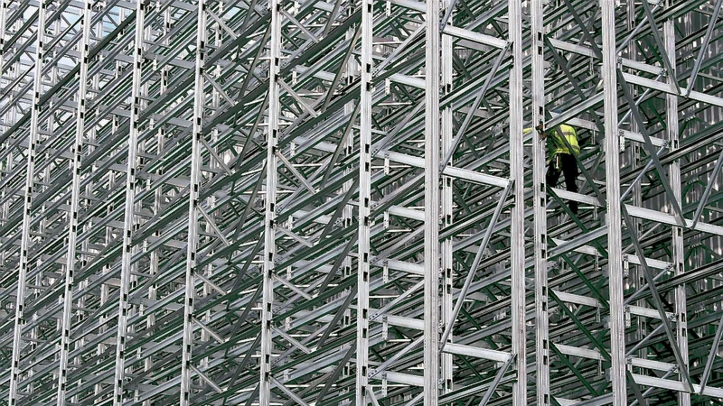Full Size of Tiefes Regal Fachfirma Baut 180 Tonnen Schweres Hochregal Fr Stauff Neuenrade Regale Für Dachschrägen Stecksystem Kleines Mit Schubladen Berlin Flexa Eiche Regal Tiefes Regal