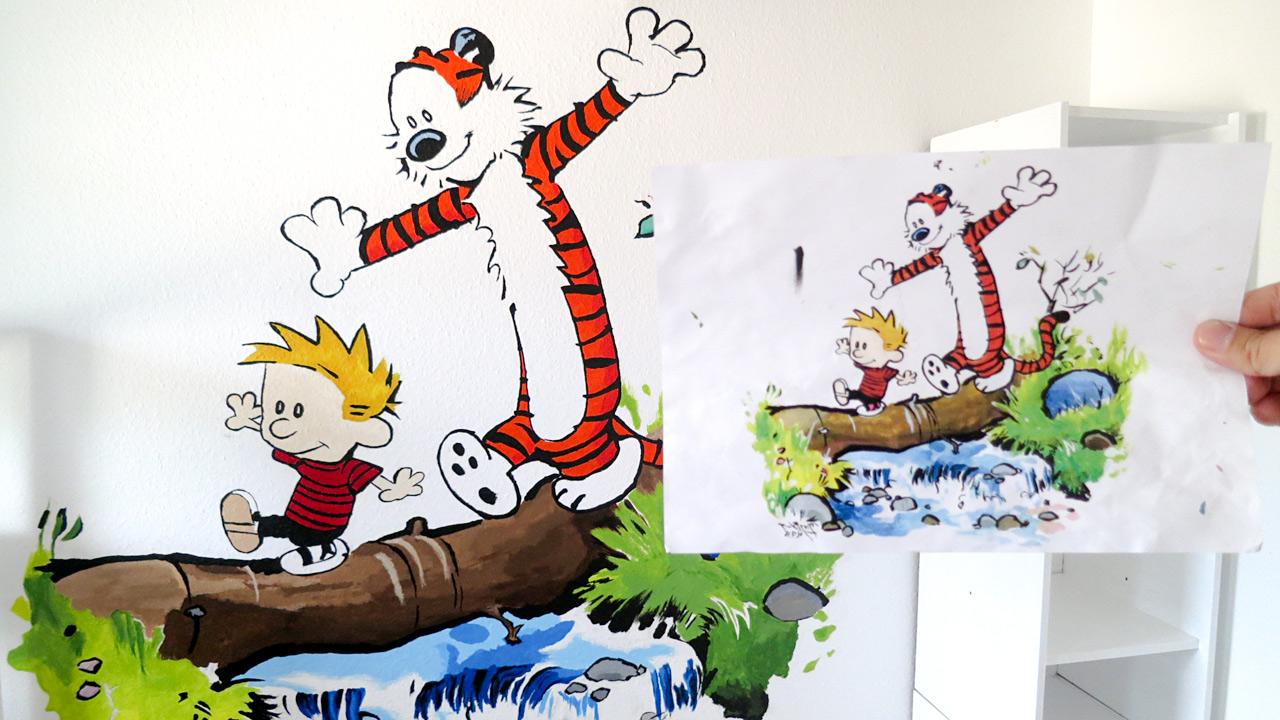 Full Size of Wandbild Kinderzimmer Ein Frs Ganz Einfach Regal Weiß Wandbilder Wohnzimmer Sofa Regale Schlafzimmer Kinderzimmer Wandbild Kinderzimmer