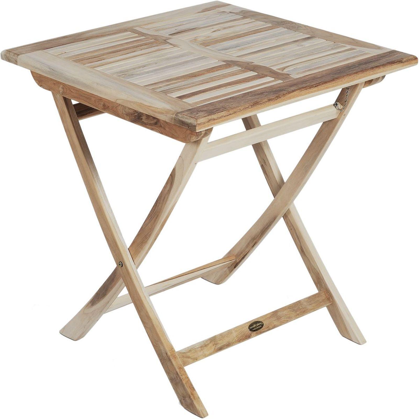 Full Size of Gartentisch Klappbar Java Teak Massivholz 70x70 Cm Online Bett Ausklappbar Ausklappbares Wohnzimmer Gartentisch Klappbar
