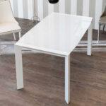 Weißer Esstisch Esszimmertisch Edicenza In Wei Glas Ausziehbar Pharao24de Stühle Groß Kaufen Sofa Massivholz Venjakob Designer Lampen Wildeiche Altholz Esstische Weißer Esstisch