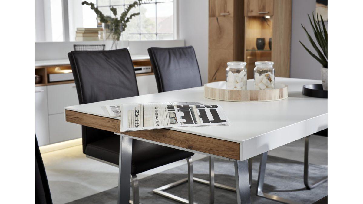 Full Size of Esstisch Eiche Modern Esstische Ausziehbar Massivholz Sofa Für Mit 4 Stühlen Günstig Massiv Großer Rund Landhausstil Esstische Weißer Esstisch