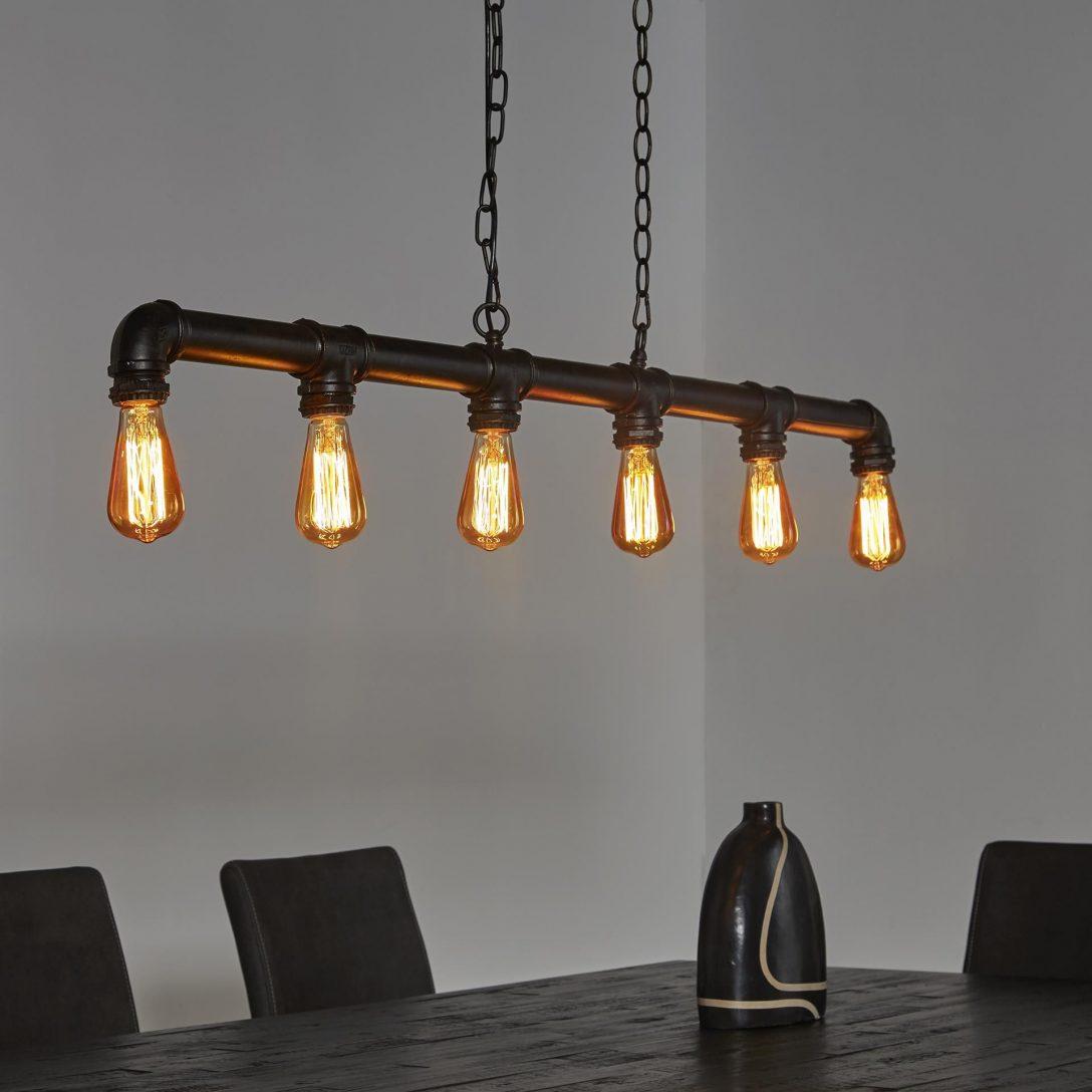 Large Size of Hngelampe Industrierohr Rohr Fabrik Lampe Pendelleuchte Led Deckenleuchte Wohnzimmer Deckenlampen Modern Deckenleuchten Bad Schlafzimmer Deckenlampe Küche Wohnzimmer Holzlampe Decke