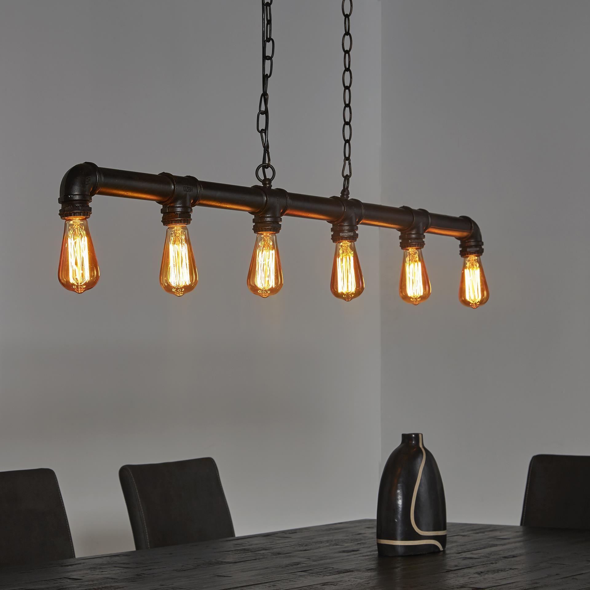 Full Size of Hngelampe Industrierohr Rohr Fabrik Lampe Pendelleuchte Led Deckenleuchte Wohnzimmer Deckenlampen Modern Deckenleuchten Bad Schlafzimmer Deckenlampe Küche Wohnzimmer Holzlampe Decke