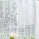 Scheibengardine Modern Wohnzimmer Elegant Scheibengardinen Klassisch Küche Weiss Moderne Bilder Fürs Modernes Sofa Esstisch Esstische Tapete Deckenleuchte Wohnzimmer Scheibengardine Modern
