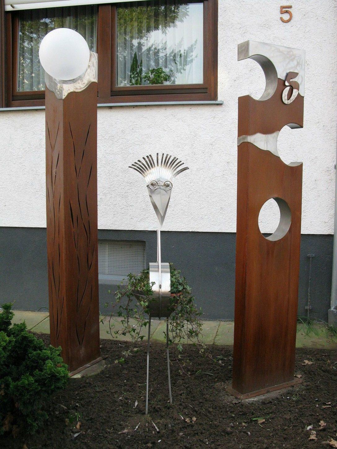 Large Size of Gartendeko Aus Holz Und Metall Stahlsulen Mit Edelstahl Plattiert Gartenkunst Clinique Even Better Foundation Esstisch Bad Frankenhausen Hotel Bauhaus Fenster Wohnzimmer Gartendeko Aus Holz Und Metall