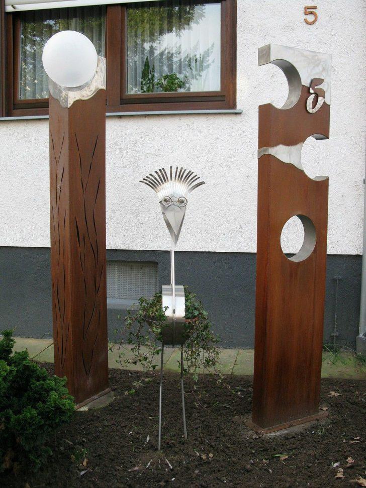 Medium Size of Gartendeko Aus Holz Und Metall Stahlsulen Mit Edelstahl Plattiert Gartenkunst Clinique Even Better Foundation Esstisch Bad Frankenhausen Hotel Bauhaus Fenster Wohnzimmer Gartendeko Aus Holz Und Metall
